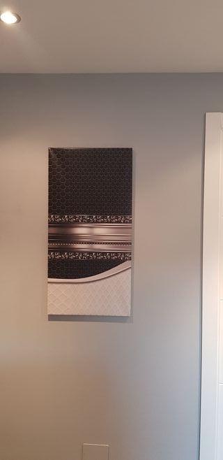 Cuadros modernos, conjunto de 4 cuadros