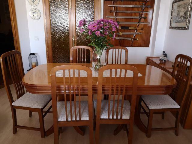 Muebles comedor (madera de raíz) de segunda mano por 500 € en Palma ...