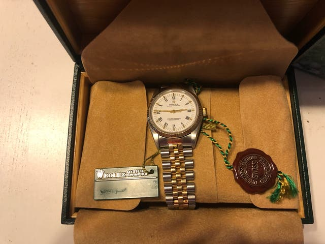 Rolex oyster perpetual datejust hombre1991