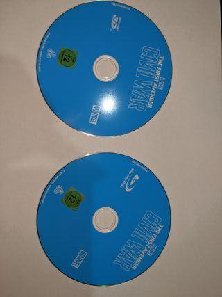 Capitan America: Civil War (discos 3D+2D) - Inglés