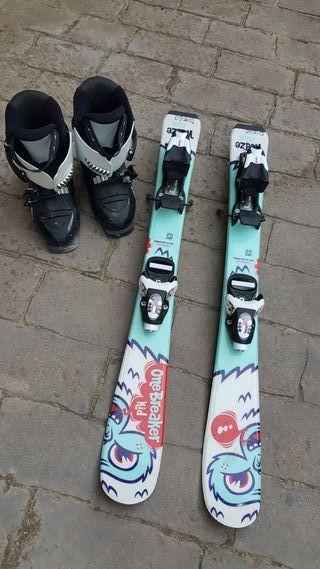 Equipo de esquí niño