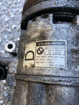Compresor aire bmw compact e46