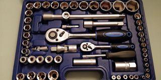 juego herramientas mecanico