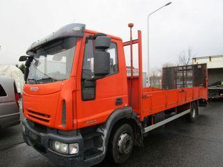 Camión IVECO ML 120E18 4X2 grua plataforma