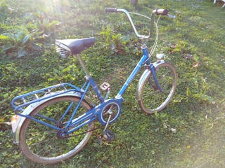 Bicicleta Bh plegable azul