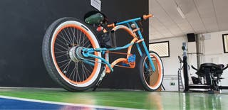 Bicicleta Eléctrica Chopper Custom Electric 500W