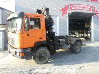 Camión Man 17.232 4X4 Multilif y Grua