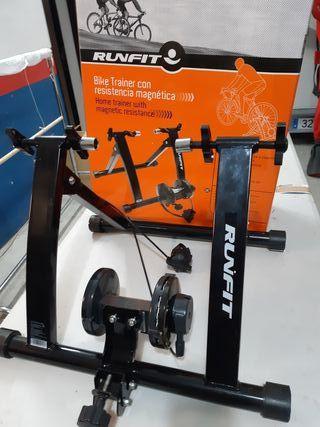 Entrenador estático para bicicleta