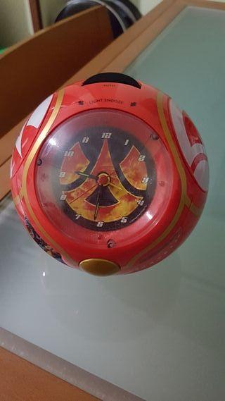 radio despertador de Bakugan