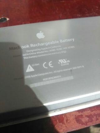 bateria MacBook modelo A1185 10,8v..55wh