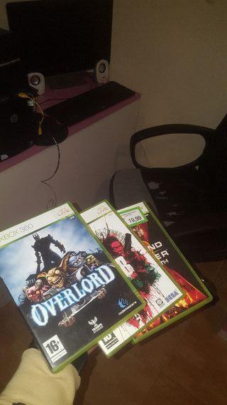 3 juegos D Xbox 360