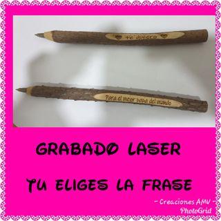 Bolis grabado laser
