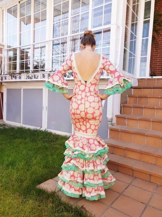 vestido flamenca 36 38