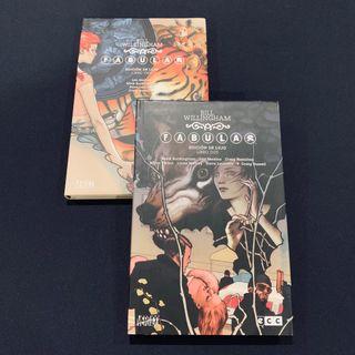 Cómics Fábulas ECC Deluxe Ed: Tomos 1 y 2
