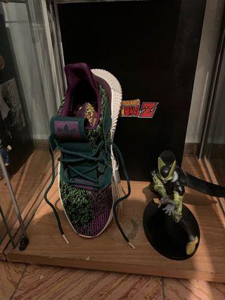 Zapatillas Adidas dragón ball (cell)