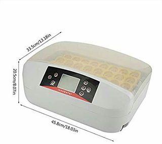 Incubadora 32 huevos de gallina