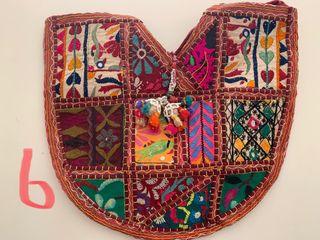 Bolsos con telas antiguas