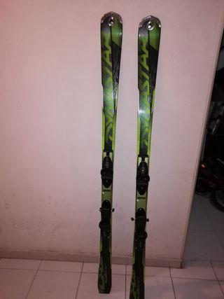 esquís hombre gama alta. skicross