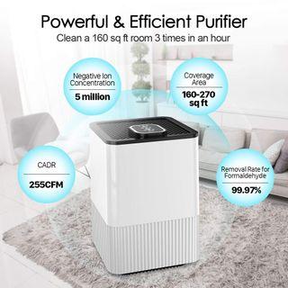purificador de aire con filtro HEPA sin estrenar