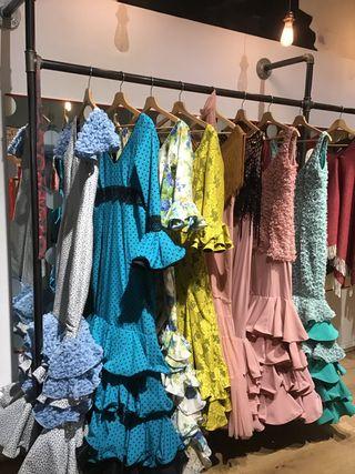 Vestidos flamenca, sevillana