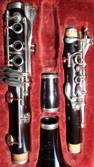 Clarinete de madera