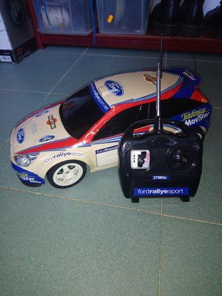 coche teledirigido radiocontrol Ford focus rally