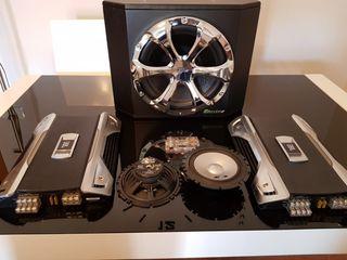 equipo de audio para coche