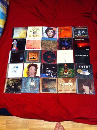 Lote 6 de 100 Cds de musica alternativa y variada.