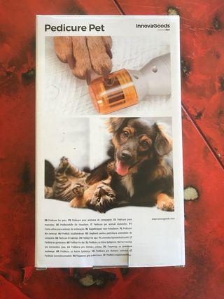 Lima de uñas electrica para mascotas InnovaGoods