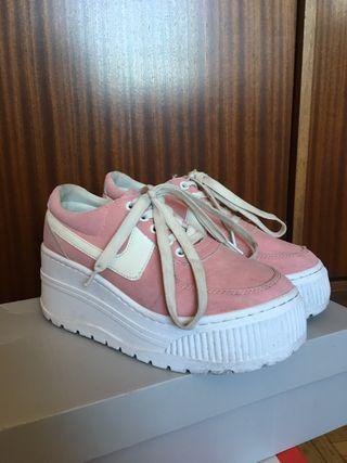 Zapatillas Plataforma estilo Go-sexy rosa T 38