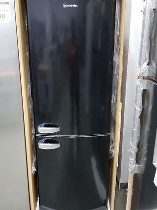 frigorífico combi negro