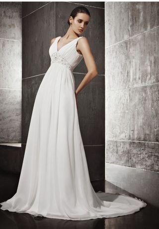 vestido de novia de segunda mano en vilanova i la geltrú en wallapop
