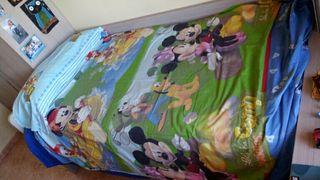 Funda nórdica de Mickey Mouse con Cojín