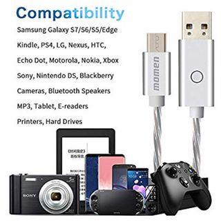 Cable Micro USB de carga rápida