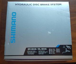Freno de disco hidráulico SHIMANO BR-M446