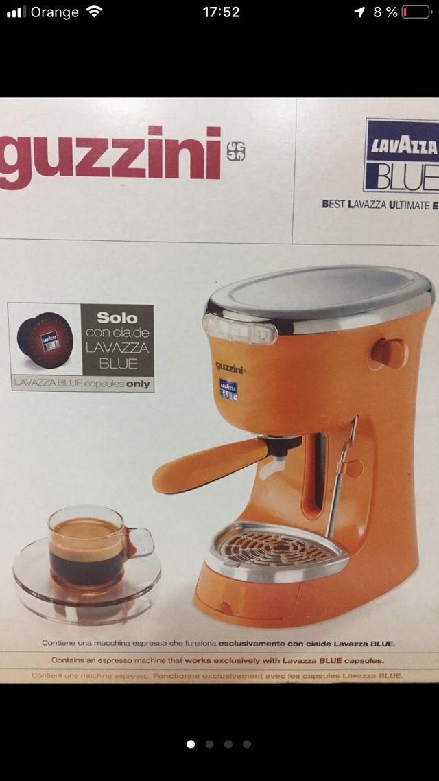 Máquina de café guzzini para lavazza a modo mio