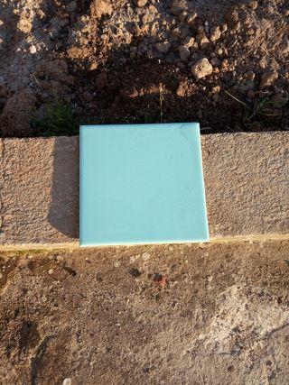 Baldosas 15x15 color azul claro
