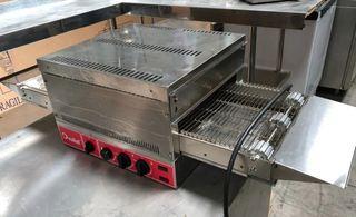 hornos de pizza tipo túnel