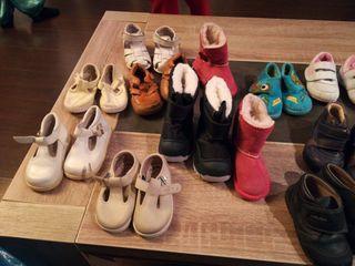 Zapatos niño niña talla 20