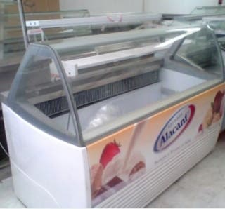 vitrina de helado