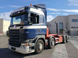 Camión Scania R480 8x2 Gancho Multilif