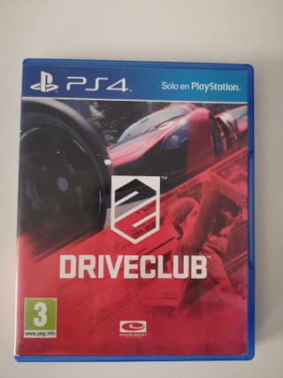 JUEGO DRIVECLUB PS4