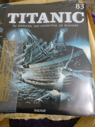 Titanic Salvat maqueta