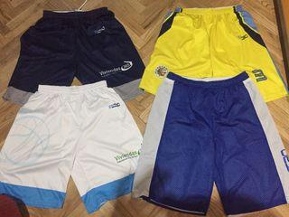 4 pantalones baloncesto de entrenamiento (talla M)