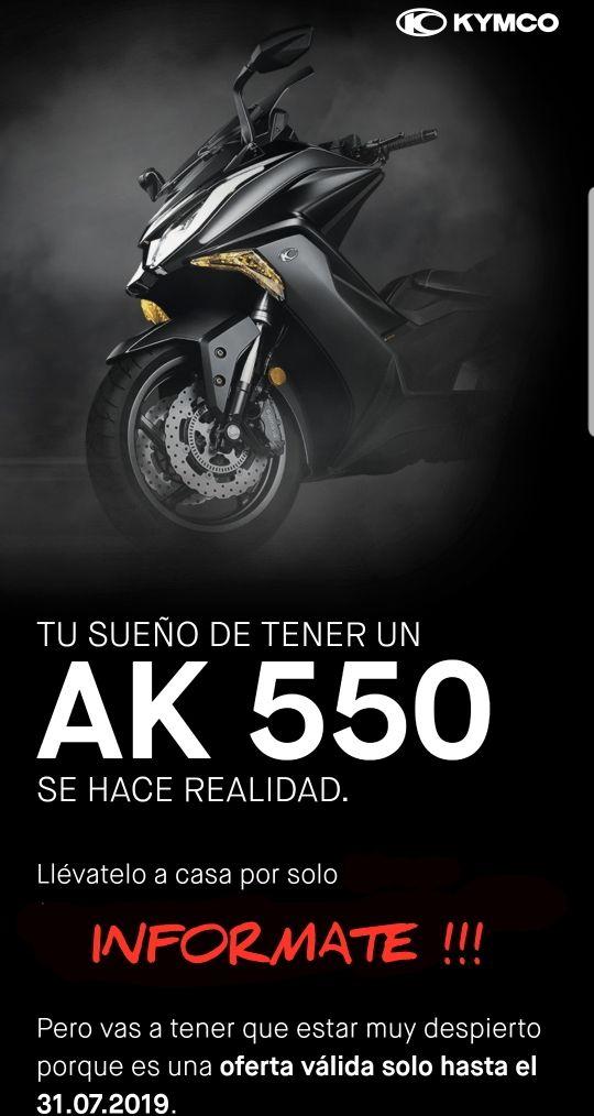 2020 KYMCO AK550 MOTOS NUEVAS MEJOR OFERTA