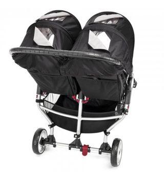 Carro gemelar City mini Baby jogger y 2 capazos