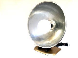 Estufa reconvertida en lámpara