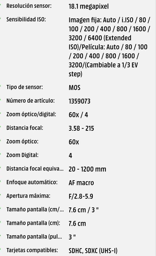 lumix fz82 4k + muchos extras