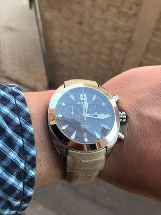 Zodiac reloj de hombre suizo