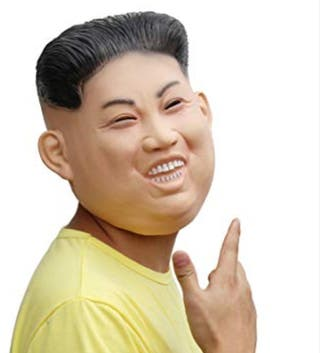 Máscara Carnaval Kim Jong Un